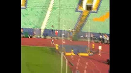 Лека Атлетика 4х100м Титан 42.07 sek.