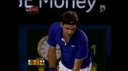 Australian Open 2009 : Федерер - Дел Потро | Част 2/3