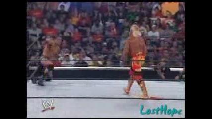 Randy Orton Срещу Hulk Hogan Summerslam 2006