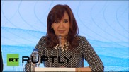 """Russia: """"Argentina is a country to invest in"""" Kirchner tells Moscow"""