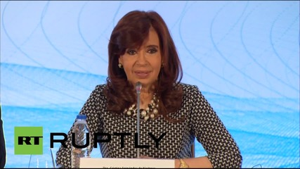 "Russia: ""Argentina is a country to invest in"" Kirchner tells Moscow"