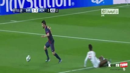 Fc Barcelona vs Ac Milan 4-0 Шампионска лига 2013