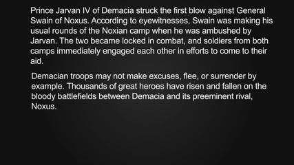 This Is War (noxus vs Demacia - Battle of the Bands)