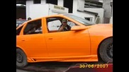 Opel Vectra B v proces na Tuning