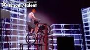 Великобритания търси талант !! Невероятни умнения с колело !!