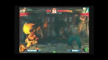 Sf4 Daigo (ryu) vs Suropu (sagat) - Set 01 - Playland Casual Matches - 23 - 11 - 2009