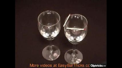 Как да направим трик с чаши