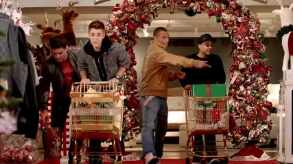 Премиера!! Justin Bieber ft. Mariah Carey - All I Want For Christmas Is You ( Official Video )