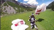 Gopro-скок със парашут от 33,000 метра