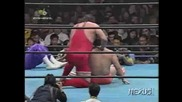 Kenta Kobashi & The Patriot vs. Gary Albright & Sabu 29.11.96