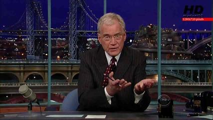 [скандал!] Изнудват David Letterman - marioni95 Hd