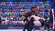Viking Raiders vs. Shelton Benjamin & Cedric Alexander: Raw, April 12, 2021