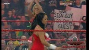 Одбора на Мелина vs Одбора на Марис Raw 12/21/09