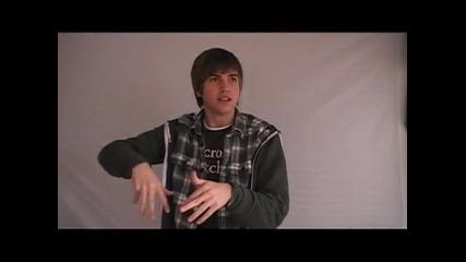 ! Превод ! Justin Bieber - One Time ( Farmville Spoof)