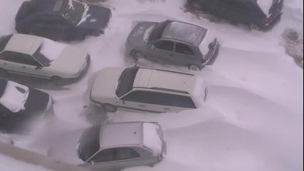 Варна- Снежна Буря 20.12.12