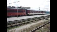Бвзр *златни пясъци* пристига на гара Варна на чело с 44 103