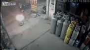 Крадене на мотор за секунди във Виетнам!