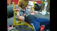 Derek Poundstone 500 lb Bench Press for reps