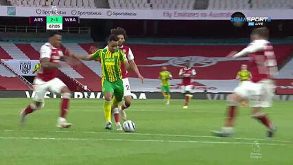 Арсенал - Уест Бромич Албиън 2:1