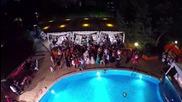 Сватбено парти край басейна. Видеозаснемане Красимир Ламбов
