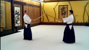 Kevin Choate Sensei_ Paired Bokken Exercise 2