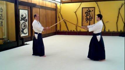 Kevin Choate Sensei_ Paired Bokken Exercise 2