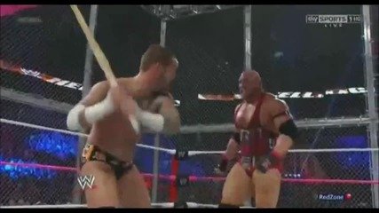Hell In A Cell 2012: Cm Punk Vs Ryback Highlights