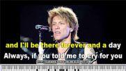 Jon Bon Jovi - Always (karaoke Version with Lyrics)