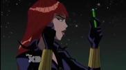 Фаталната героиня Черната Вдовица от Отмъстителите: Най-могъщите герои на Земята (2010-2011-2012)