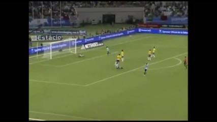 Свпер гол на Меси срещу Бразилия