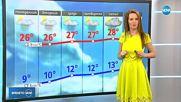 Прогноза за времето (28.04.2018 - централна емисия)