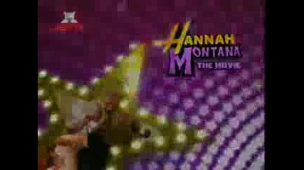 Hannah Montana - The Movie First Look On Jetix [english]