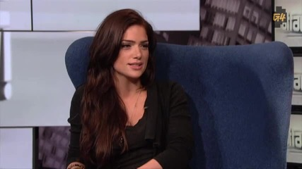 Janet Montgomery interview on G4's Attack of the Show