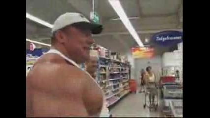 Markus Ruhl goes shopping