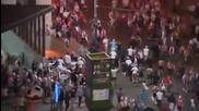 Поляци и руснаци се биха преди и след мача! *12.06.2012г.*