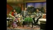 Майли като малка в Тв предаване с баща си Били Рей 30.11.1994г.