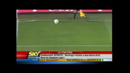 Италия - Словакия 3:2