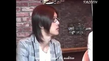 Boys over Flowers F4 audition a little part Lee Min Ho and Kim Hyn Jung Kim Bum Kim Jun