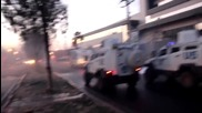 Turkey: Protesters hit with water cannon in Diyarbakir