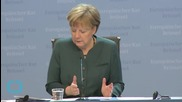Angela Merkel Stands Firm on Finding Resolution to Greece Crisis