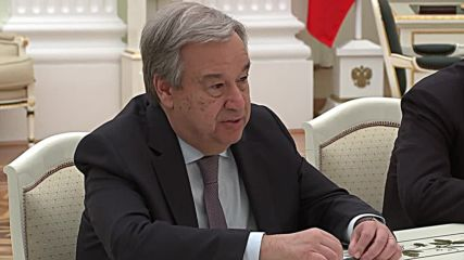 Russia: Guterres says Russia is 'indispensable element' of new multipolar world