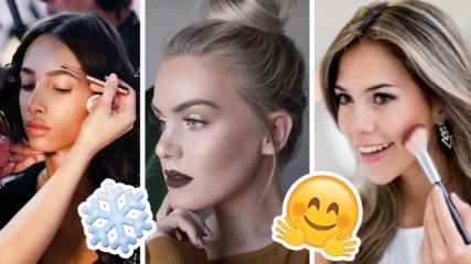 Как да поглезим лицето си през зимата? 5 домашни идеи за това