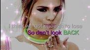 Мисля,че ще се разбия и ще получа удар + Selena Gomez