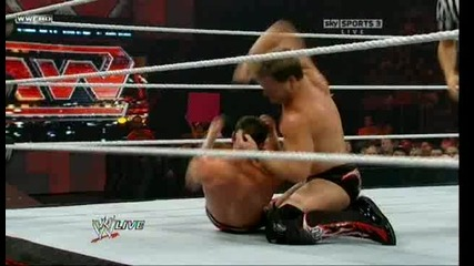 Evan Bourne vs Chris Jericho (raw, 21.06.10)