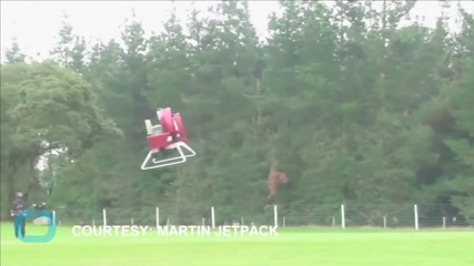The World's First Commercial Jetpack Will Cost $150,000 Next Year