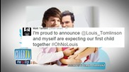 Twitterverse Explodes Over Louis Tomlinson's Daddy News