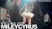 Miley Cyrus - Hoedown Throwdown - Front Row - Las Vegas - Wonder World Tour 2009