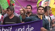 Germany: 'Freedom to Abdullah Ocalan' - Berlin's Kurds march in support of Ocalan