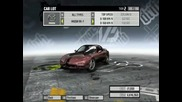 need for speed pro street all cars