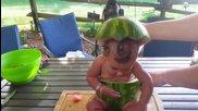 Бебета обичат диня - компилация